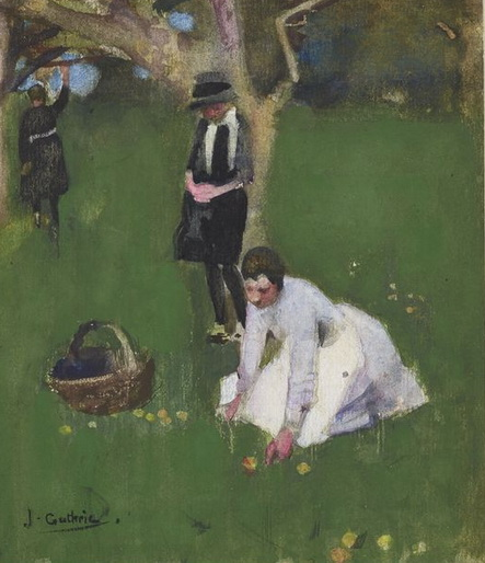 James Guthrie - In the Orchard