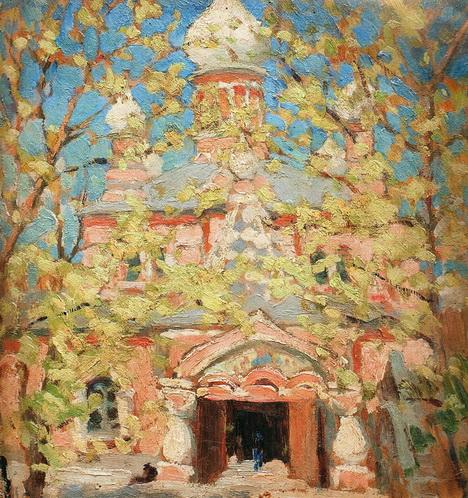 Бурачек - Покровский монастырь в Киеве