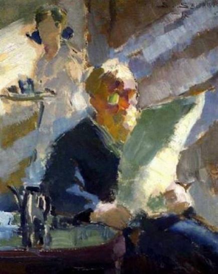 Santeri Salokivi - Reading Man