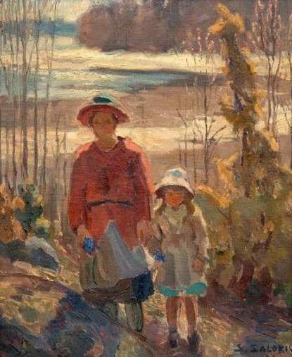 Santeri Salokivi - Mother and child