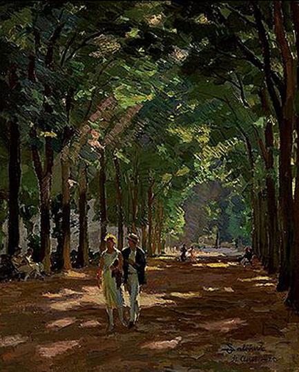 Santeri Salokivi - Parc de Saint Cloud Paris