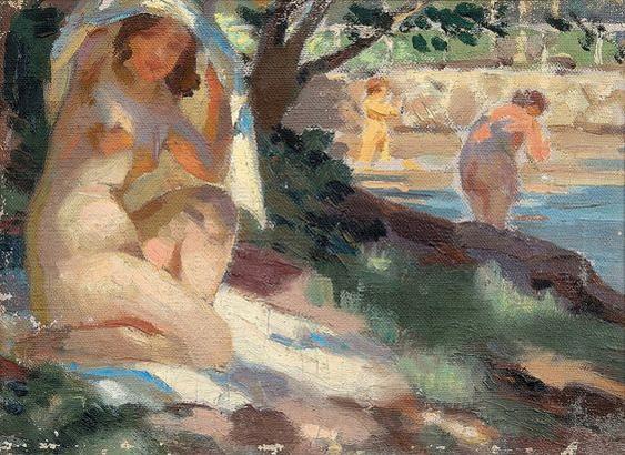 Santeri Salokivi - Ladies on the Shore