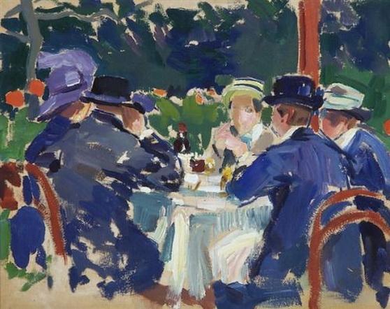 Santeri Salokivi - In a Cafe