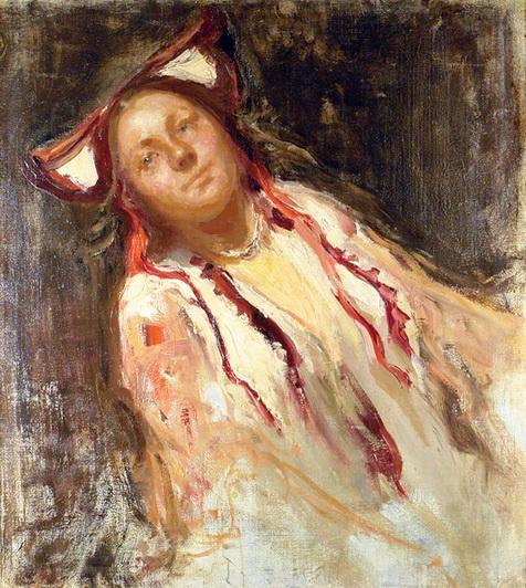 Щербиновский - Девушка-крестьянка