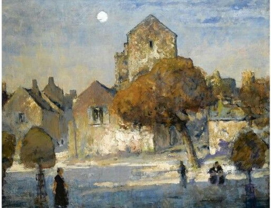 James Paterson - A Little Town in France