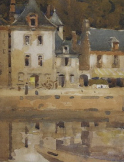 James Paterson - Old houses on the Rance