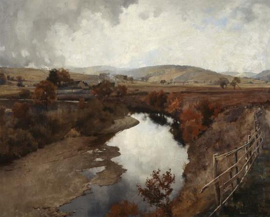 James Paterson - Autumn in Glencairn, Moniaive