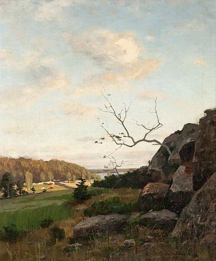 Victor Westerholm - Landscape from Parainen