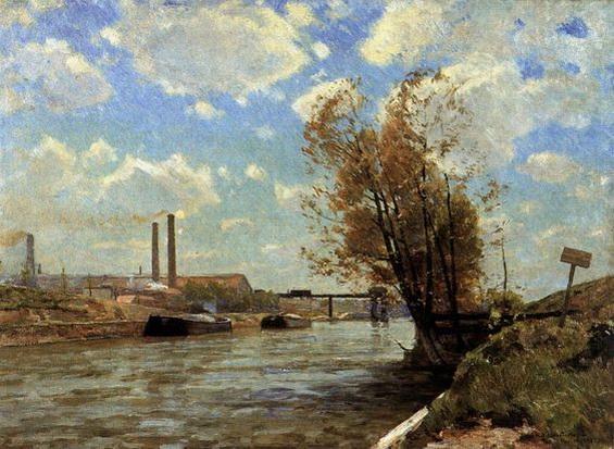 Victor Westerholm - The Seine at Paris