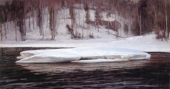 Victor Westerholm - Valle del rio Kymijoki