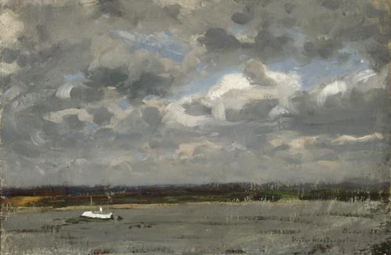 Victor Westerholm - Vista sobre el Rhin