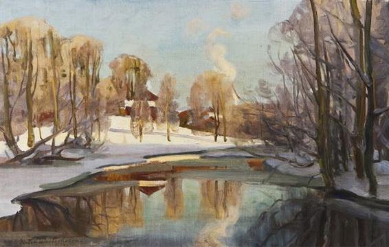 Victor Westerholm - Vue de Fiskars