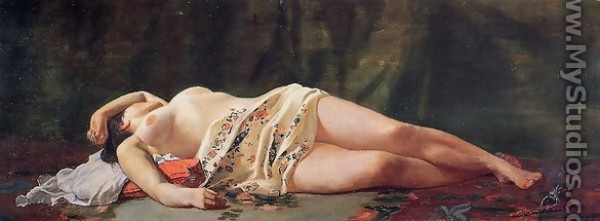 Frederic Bazille - Reclining Nude