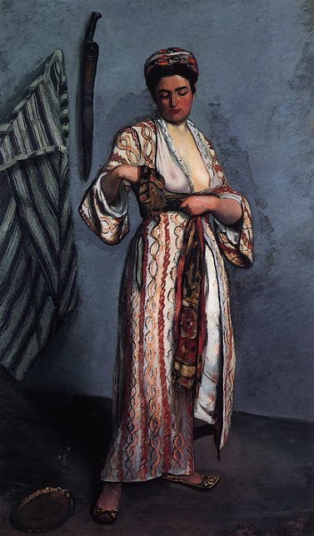 Frederic Bazille - Woman in Moorish Costume  Moorish Costume