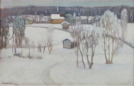 Vaino Hamalainen - FROSTY WINTER DAY