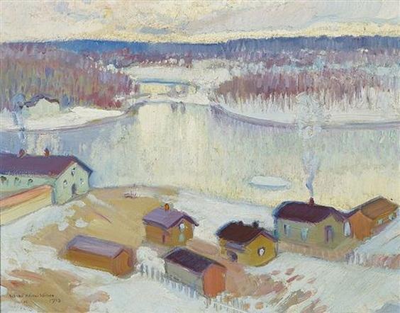 Vaino Hamalainen - Winter in Heinola