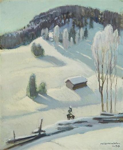 Vaino Hamalainen - Winter in Karelia