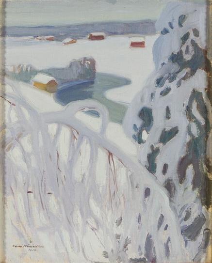 Vaino Hamalainen - Winter landscape
