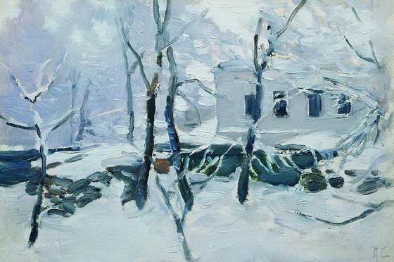 Степанов Ал. -  Зима. Иней