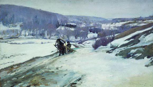 Степанов Ал. -  Зимний пейзаж