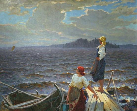 Федорович Владимир Николаевич - На мостках
