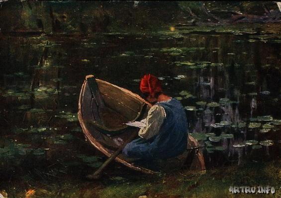 Федорович Владимир Николаевич - на воде