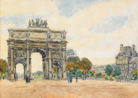 Яковлев Мих. - Триумфальная арка. 1934