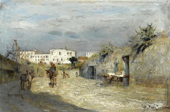 Похитонов - Улица на юге Франции
