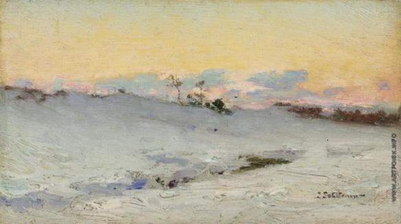 Похитонов - Брессо под снегом