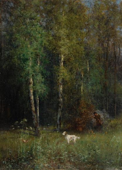 Похитонов - Охота в лесу