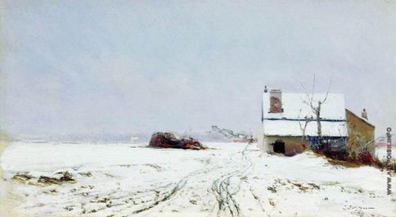Похитонов - Зимний пейзаж