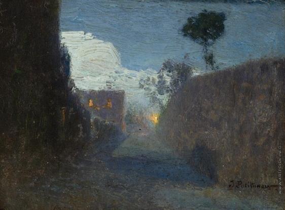 Похитонов - Лунная аллея в Жупиле