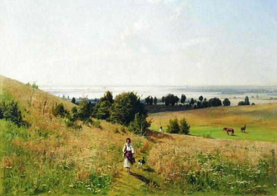 Орловский Вл. - Малороссийский пейзаж