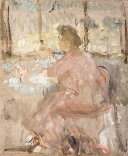 Михаил Шемякин - Портрет жены и сына за столом