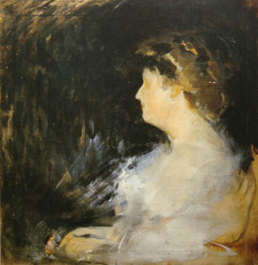 Михаил Шемякин - портрет жены