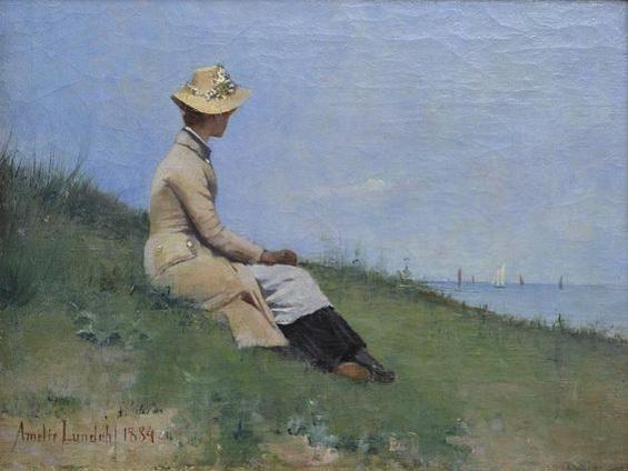 Amelie Helga Lundahl - By the Seaside, Bretagne,