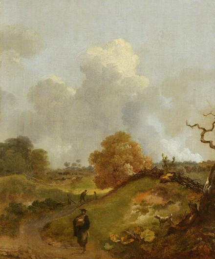 Thomas Gainsborough - A Country Road
