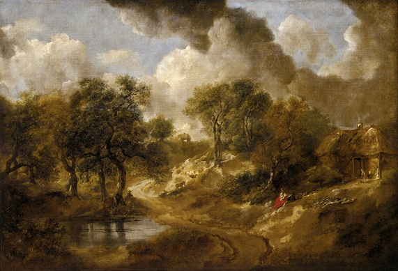 Thomas Gainsborough - Landscape in Suffolk