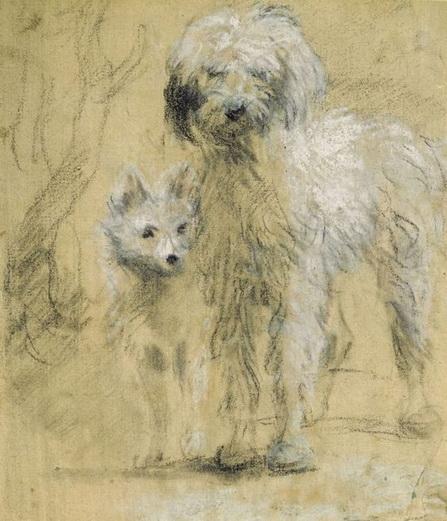 Thomas Gainsborough - Tristram And Fox