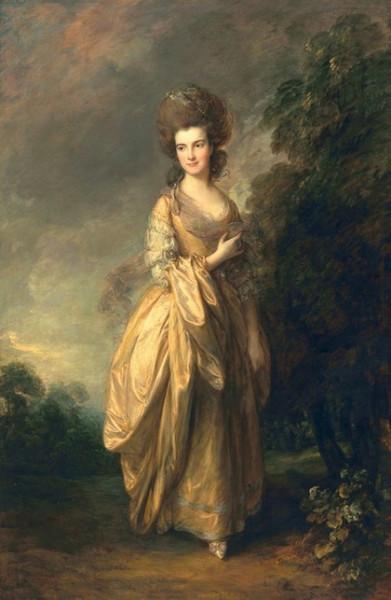 Thomas Gainsborough - Portrait of Elizabeth Beaufoy