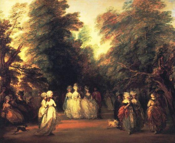 Thomas Gainsborough - The Mall