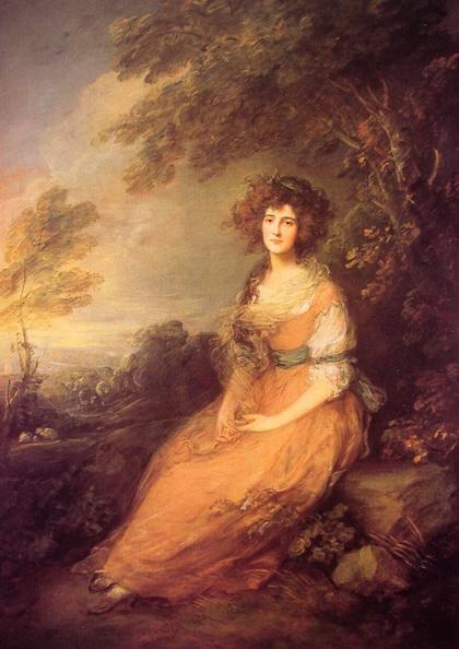 Thomas Gainsborough - Mrs Richard Brinsley Sheridan