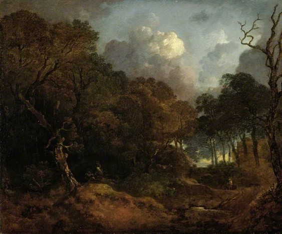 Thomas Gainsborough - A Forest Road