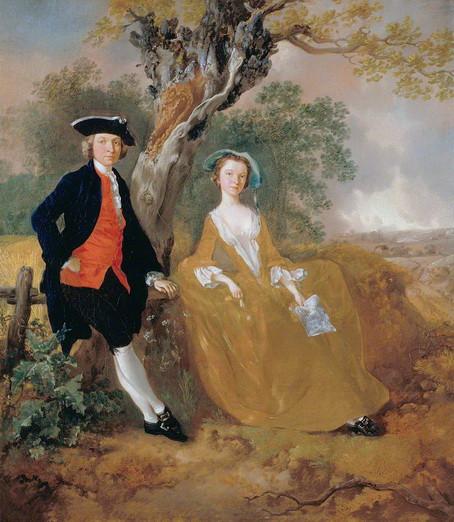 Thomas Gainsborough - A Couple in a Landscape