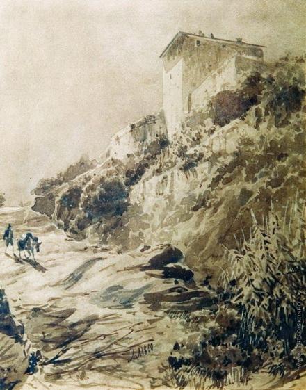 Лагорио - Крымский пейзаж