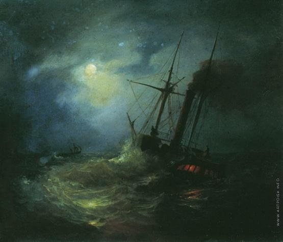 Лагорио - Ночь на море