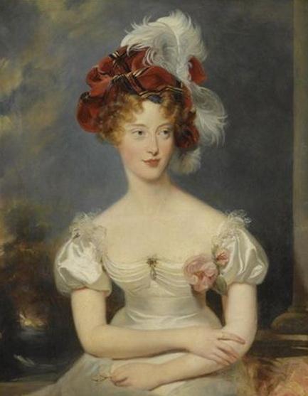 Thomas Lawrence - Portrait de Marie-Caroline de Bourbon-Sicile