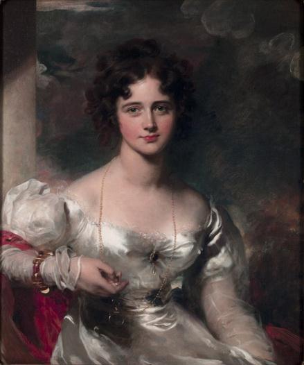 Thomas Lawrence - Portrait of Miss Rosamond Croker