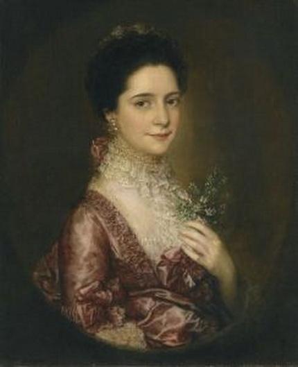 Thomas Lawrence - Portrait of Mrs. Richards