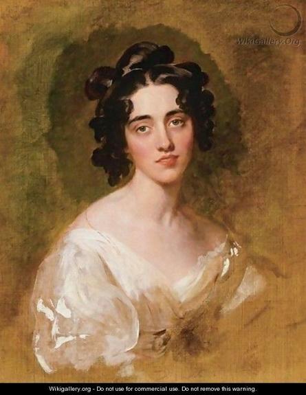 Thomas Lawrence - Portait Of Lady Georgina North